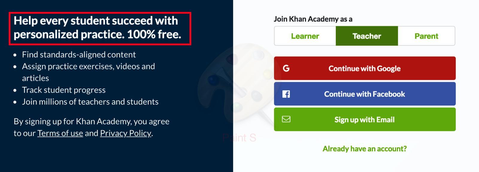 teacher khan academy