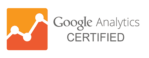 google analytics certified badge