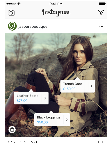 instagram shopping tags