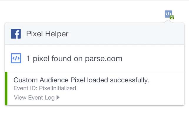 Google Chrome Extension verify installation Pixel helper
