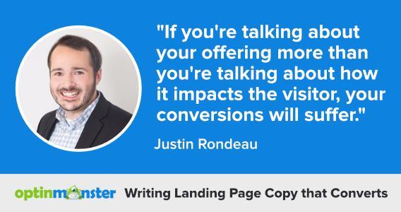 landing page copy that converts