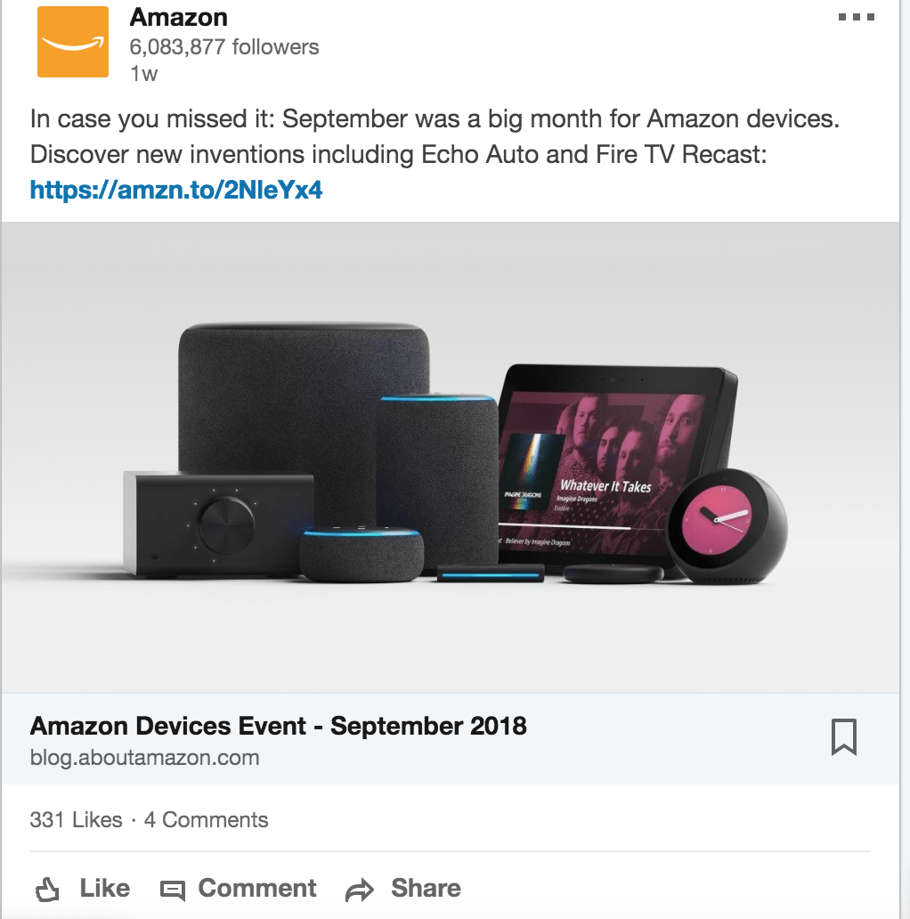 amazon ad example