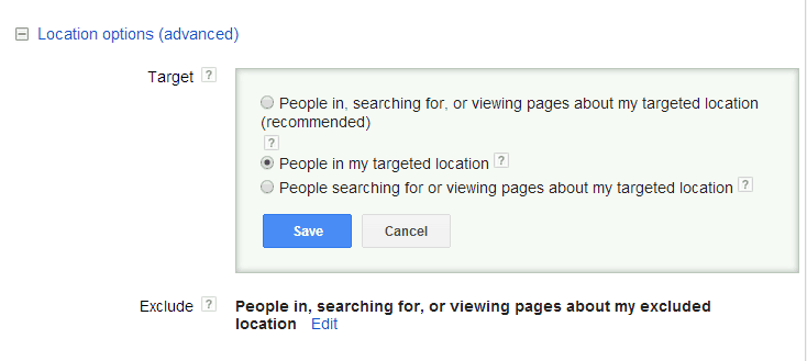 how-to-use-geotargeting- people IN targeted location